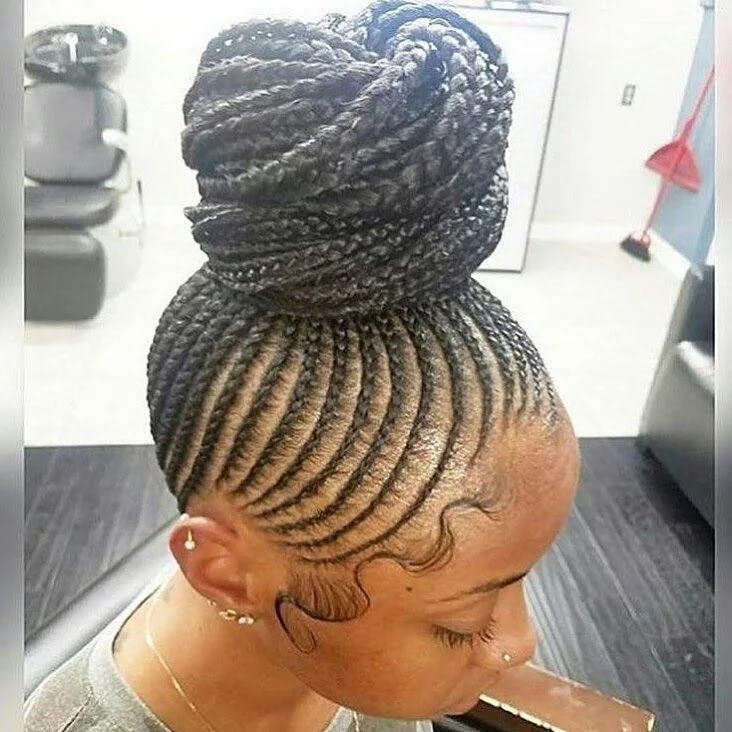 Top Creative Cornrow Hairstyles The Best Ones Of 2018 You Should Try This Year In 2020 African Braids Hairstyles Cornrow Updo Hairstyles Cornrow Hairstyles