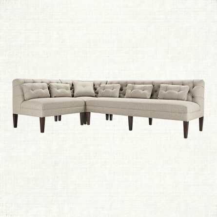 View the Eaton Dining Banquette at Arhaus Furniture The dinner