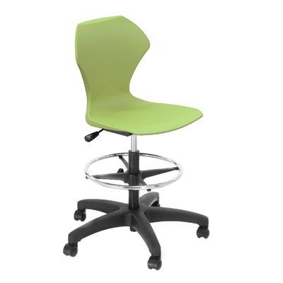 Marco Group Apex Series Drafting Chair Upholstery Green Le