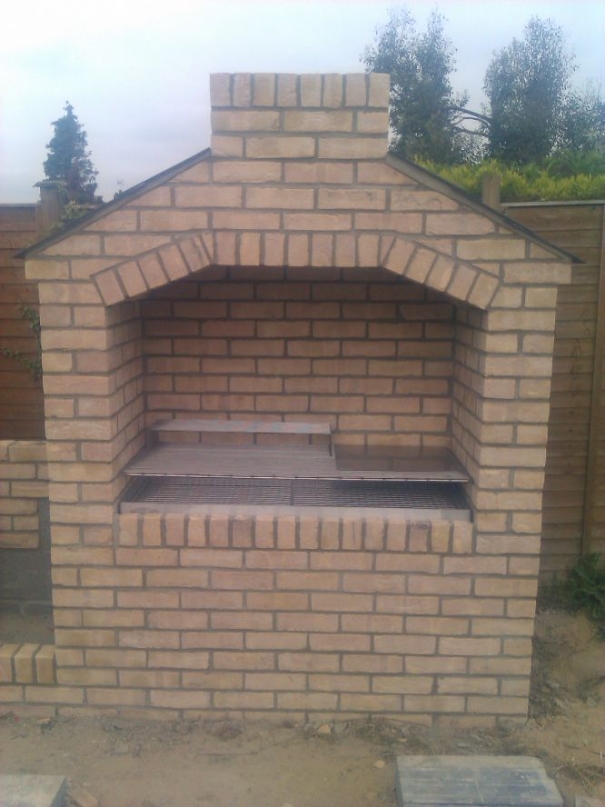 Brick bbq pit designs home ideas design for the home for Outdoor barbecue grill designs