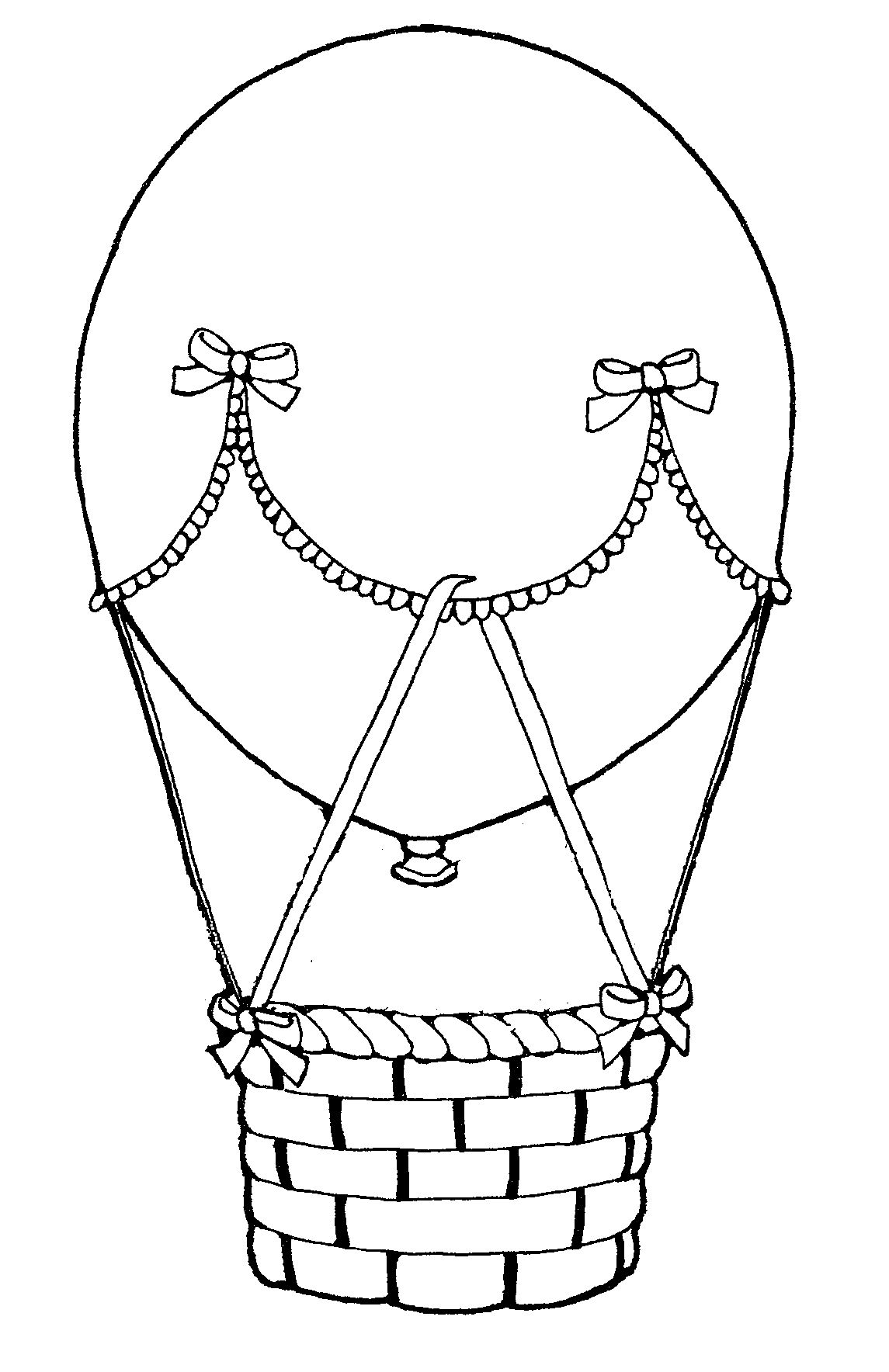 hot air balloon coloring pages sheets | travel wedding - my ... - Hot Air Balloon Pictures Color
