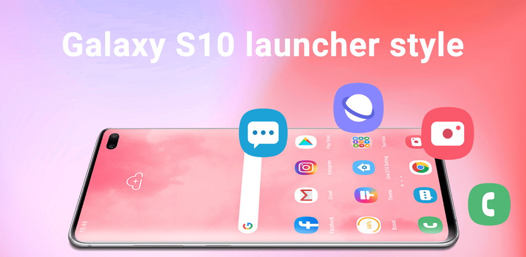 Super S10 Launcher for Galaxy S8S9S10J launcher v1.2 Full