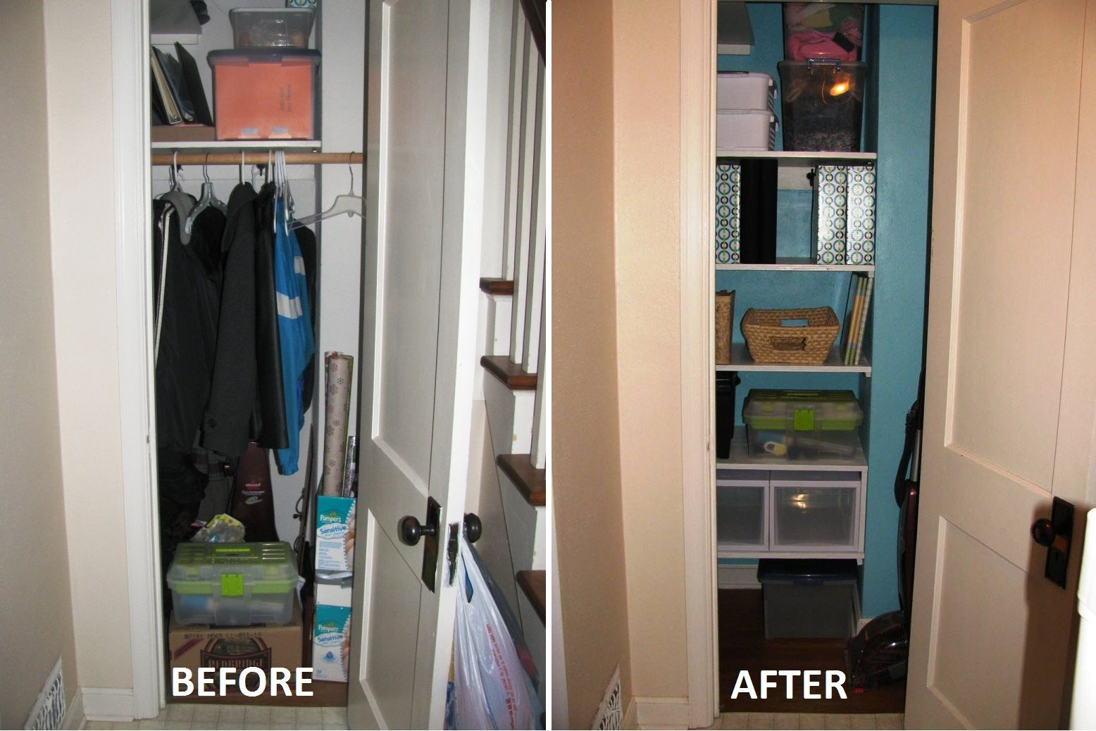 Small Hall Closet Storage Ideas Picture & Small Hall Closet Storage Ideas Picture | Home Gallery | Pinterest ...
