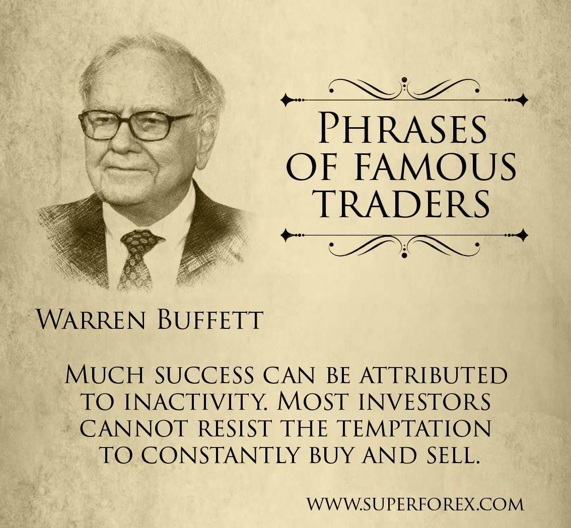 Phrases of famous traders #SuperForex #Forex #Traders #Trading #Phrases #Buffett