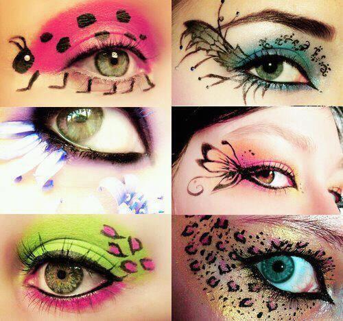 Artsy Eyeshadow Ideas Eye Make Up Fantasy Makeup Makeup