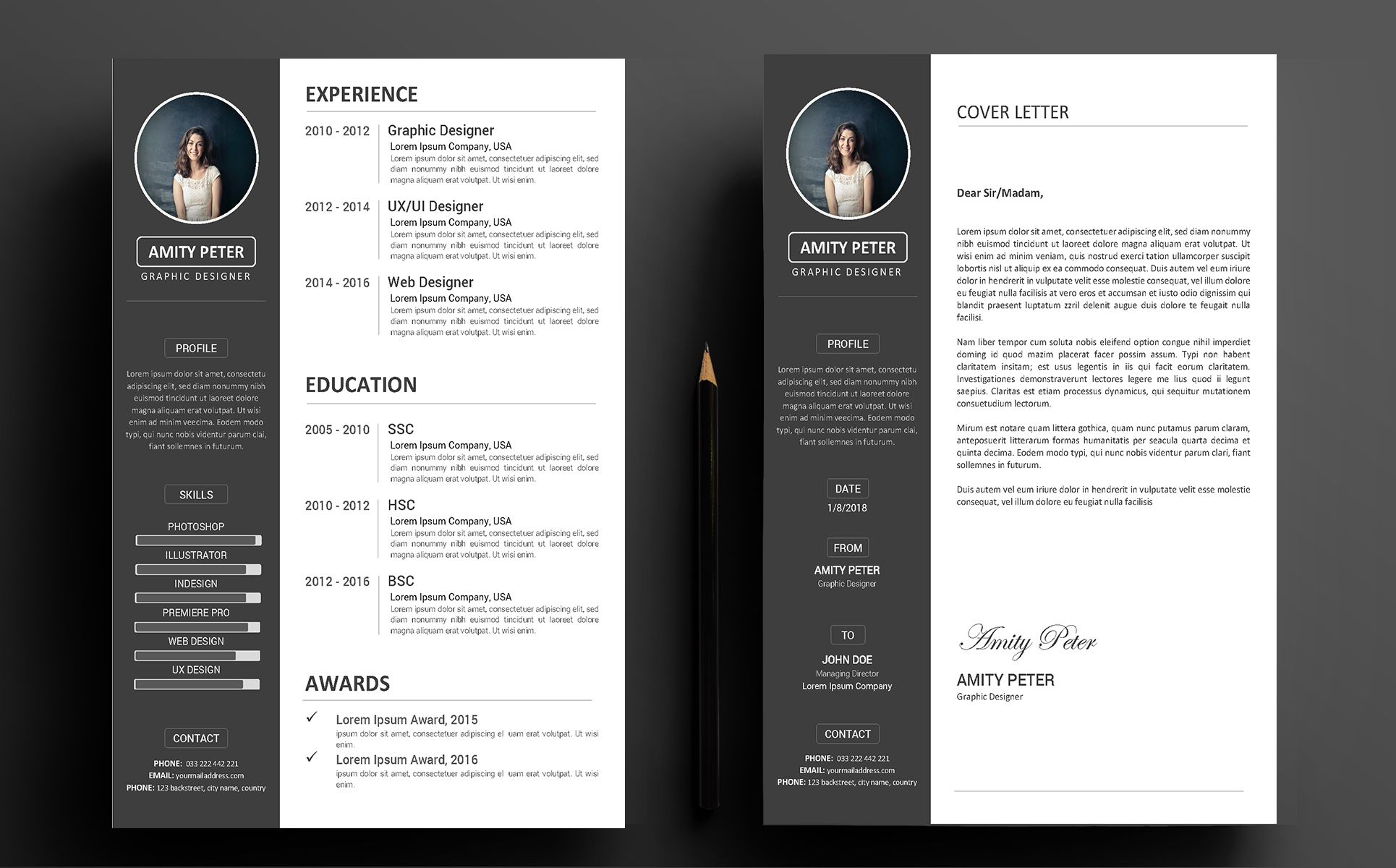 Amity Peter Cv Resume Template 71495 Templatemonster Cv Resume Template Resume Template Resume