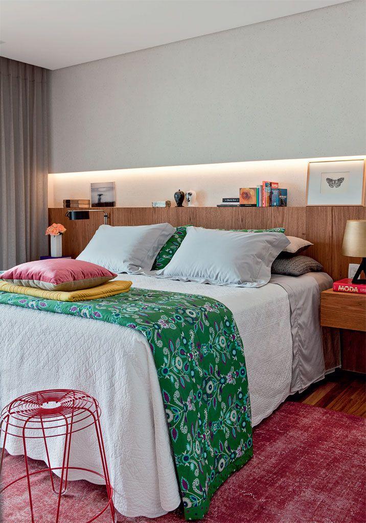 Fabuloso 8 quartos com ideias de cabeceiras, enxovais, luminárias  IY69