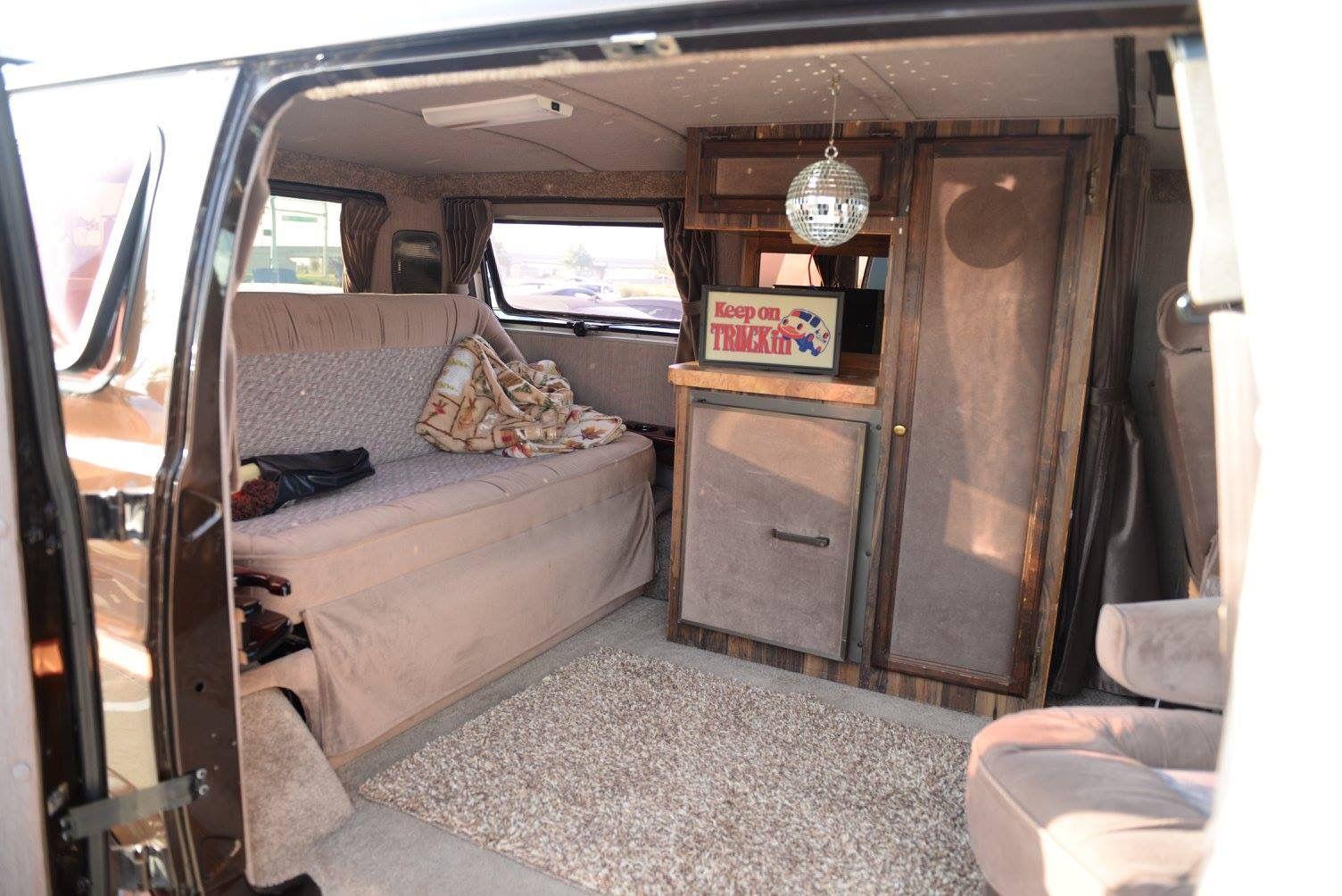 Custom 70 S Dodge Van Interior Camper Interior Caravan Interior Custom Van Interior