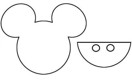 Porta cubiertos de Mickey Mouse para baby shower | Manualidades ...