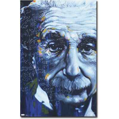 colorful formulas art   Albert Einstein Formulas