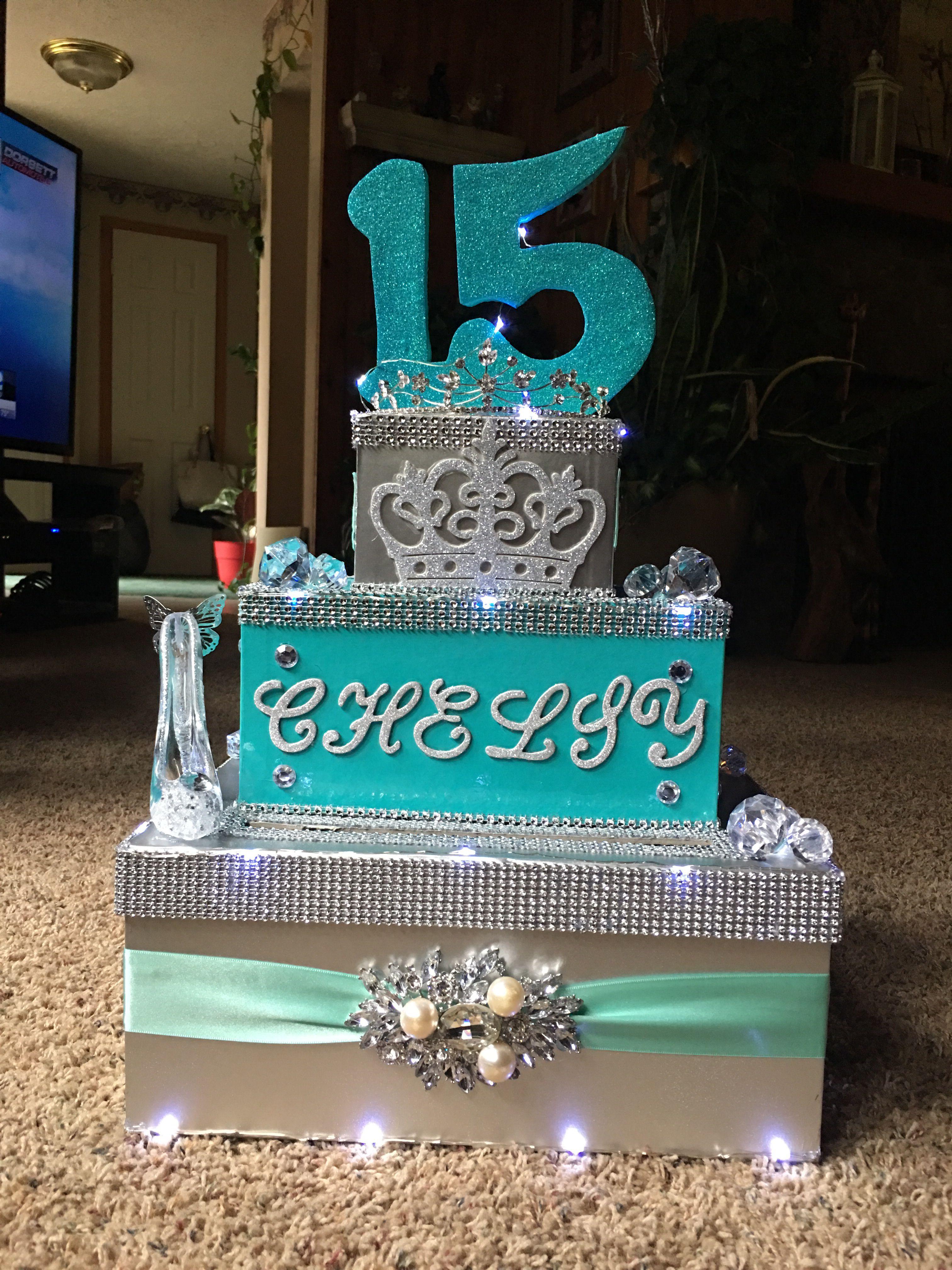 Caja de tarjetas birthday cake birthday cake