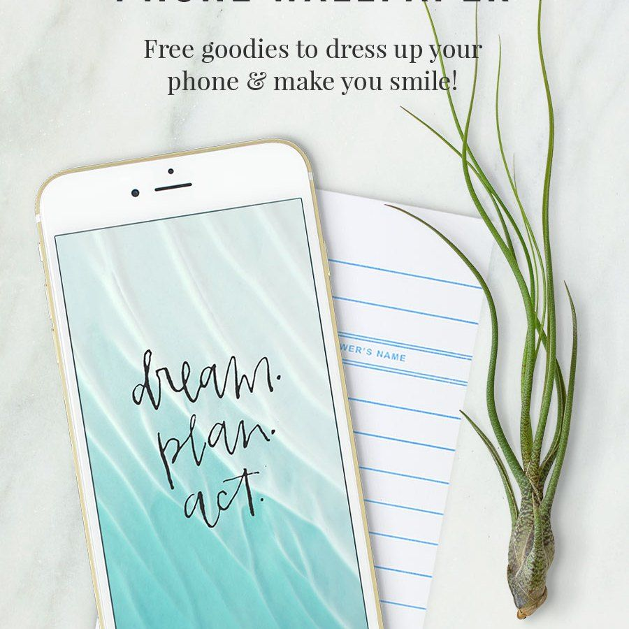 Hand Lettered Free Phone Wallpaper By Shrimp Salad Circus