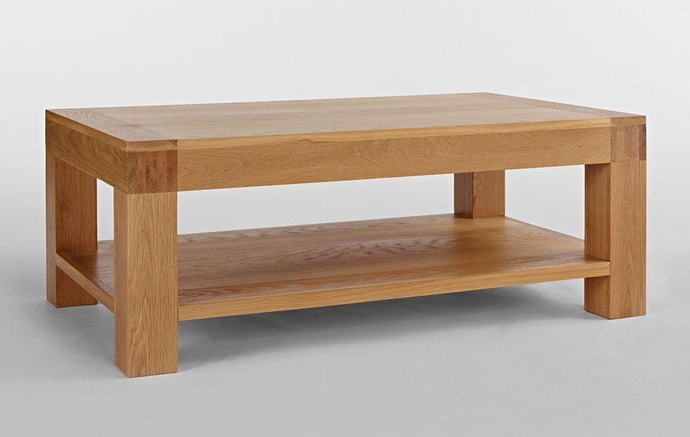 Good Santana Oak Coffee Table