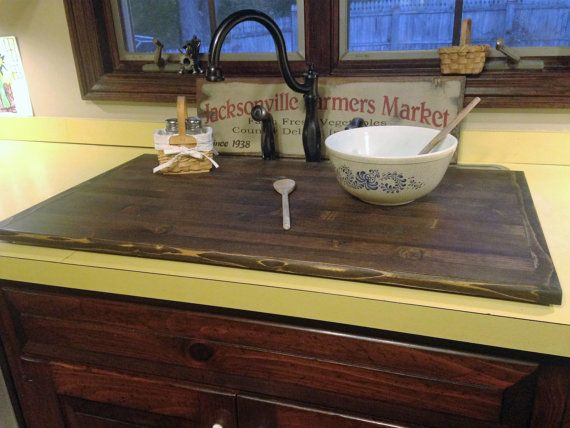 This Cover Has A Fine Smooth Furniture Type Finish No Rough Surfaces Or Open Cracks Or Seams Sanded Smooth Kitchen Sink Cover Sink Cover Kitchen Remodel
