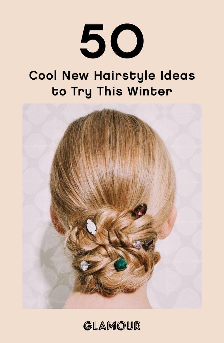 #hairstyles #hairideas #updo #winter #inspo