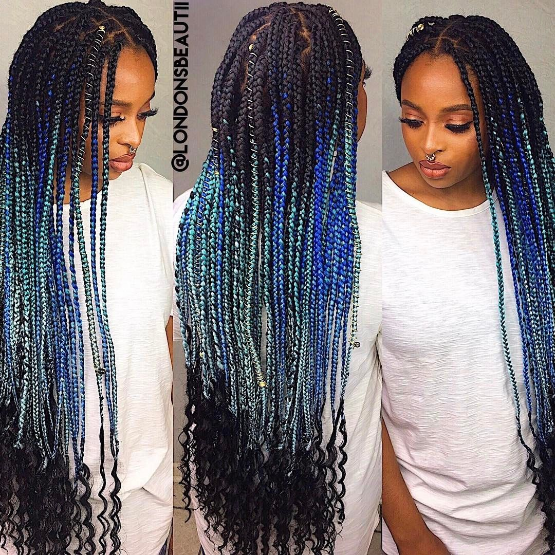 Goddess Single Plaits Done By London S Beautii In Bowie