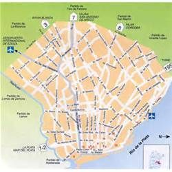 Buenos Aires Argentina Map Places to Visit Pinterest