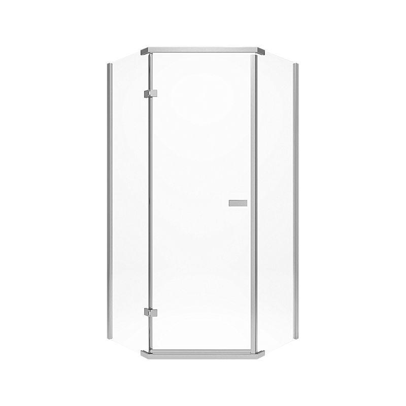 422061 Delta 38″ Frameless Neo Angle Shower Enclosure : Bath ...