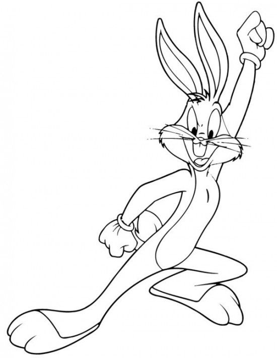 Bugs Bunny Coloring Pages Picture 10 550x711 picture | Looney Tunes ...
