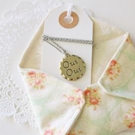 Learn how to sew this pretty fabric envelope!