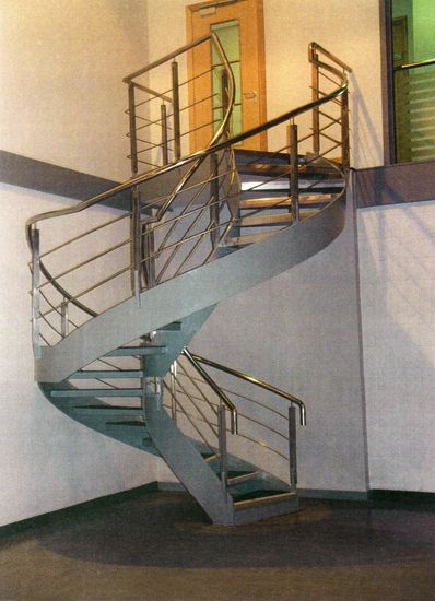 Best Spiral Staircase In Mild Steel Featuring Stainless Steel 400 x 300