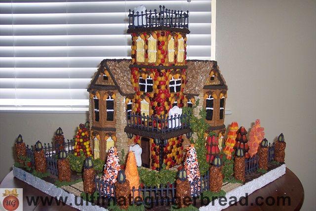 Perfect Chloeu0027s Inspiration ~ Gingerbread Halloween Houses