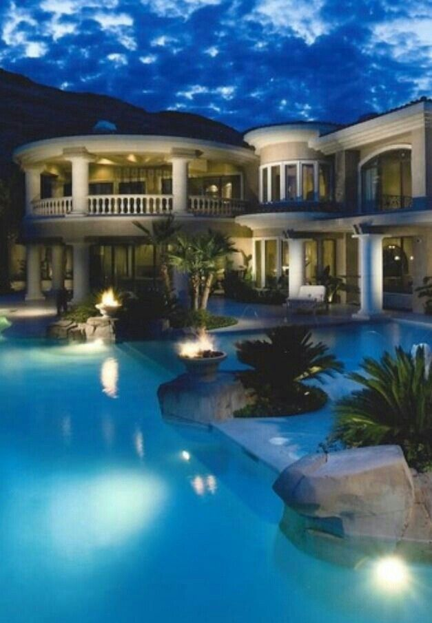 gorgeous pool and gorgeous home luxury living backyard paradise luxury homes luxury
