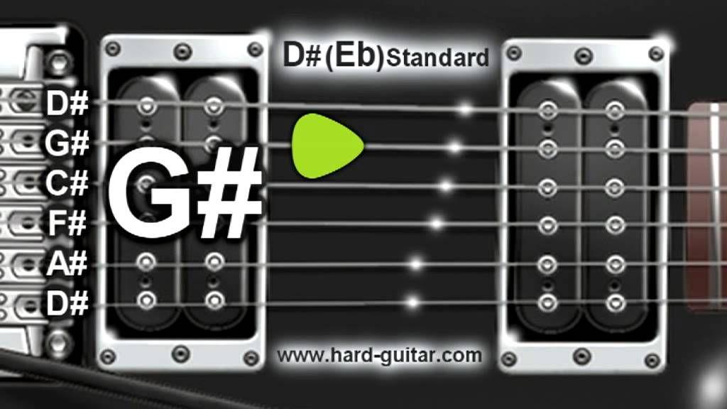 D eb standard guitar tuner d g c f a d tuning