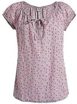 Esprit Clothing for Women | 48 Blusa Esprit Casual efecto arrugado escote pronunciado - lacito ...