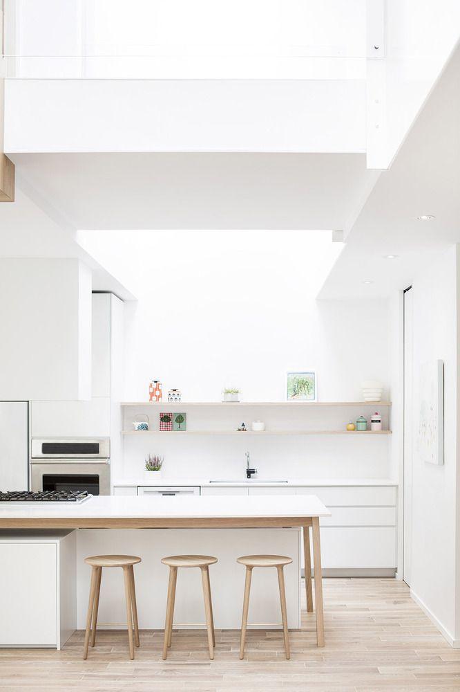 Gallery of Maison Mentana   EM architecture - 7 Architecture - eine dynamisches modernes kuche design darren morgan