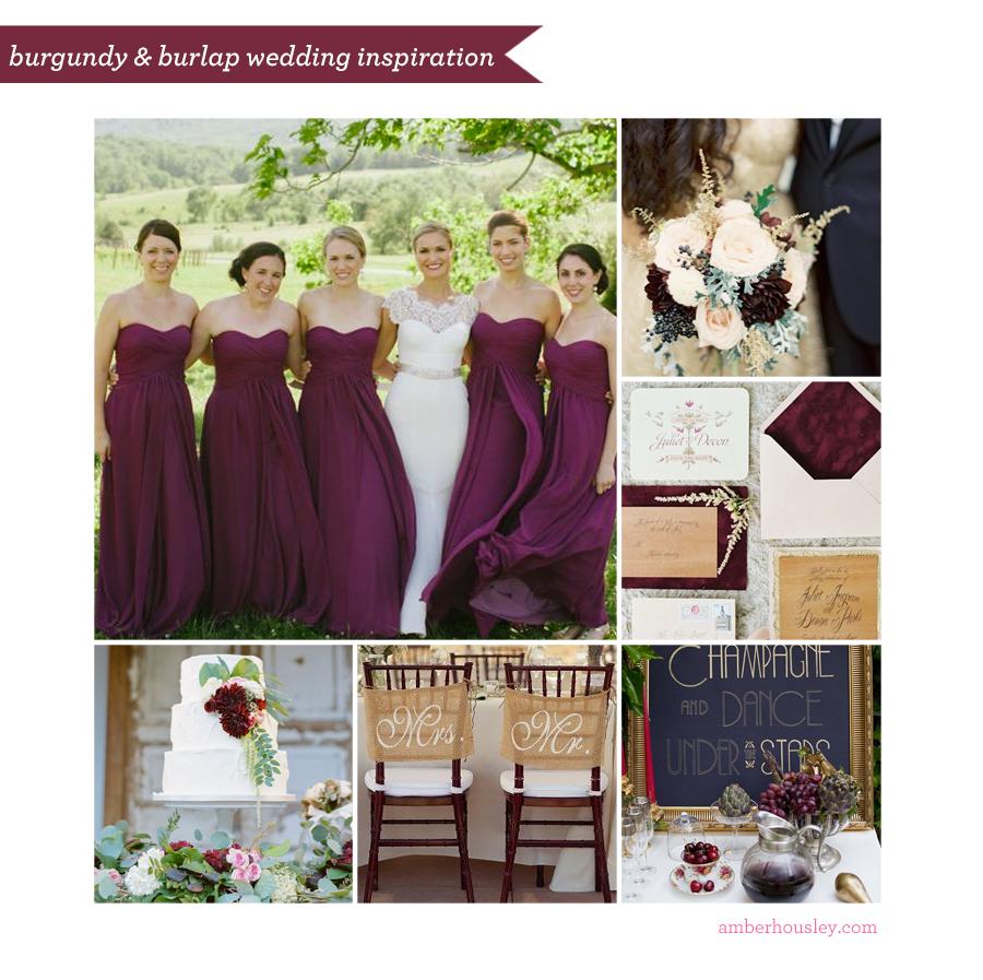Burgundy And Burlap Wedding Inspiration Amber Housley Marketing Strategy Inspired Retreat Burgundy Wedding Wedding Inspiration Burlap Wedding