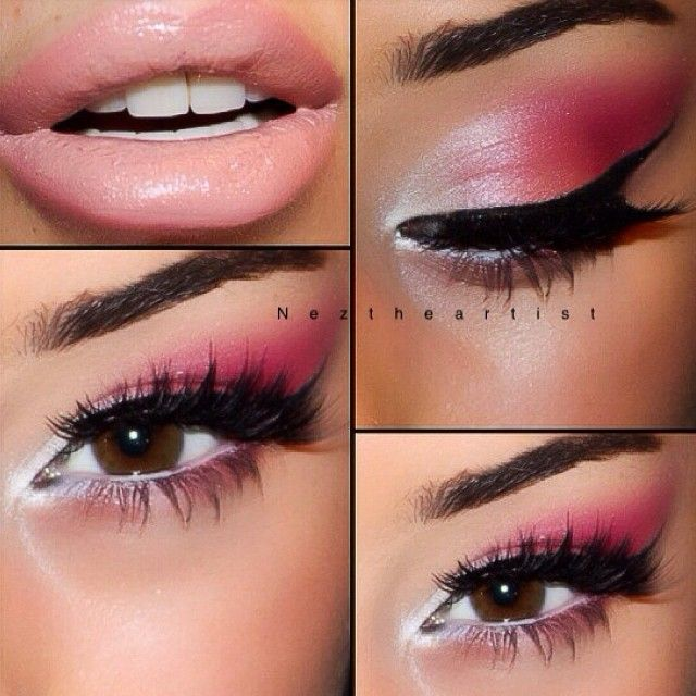 Flamingo Road Amazing Eyes Makeup Makeup Flamingo Costume