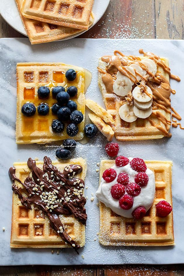 Waffle : Ricetta originale Waffles (morbidi, golosi e