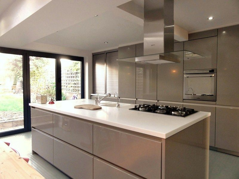 Best Schuller Kitchens Google Search Taupe Kitchen Gloss 400 x 300
