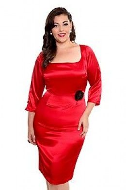 Shopping Guide for Plus Size Cocktail Dresses | Sexy, Satin ...