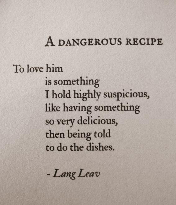 Recipe Poems 3