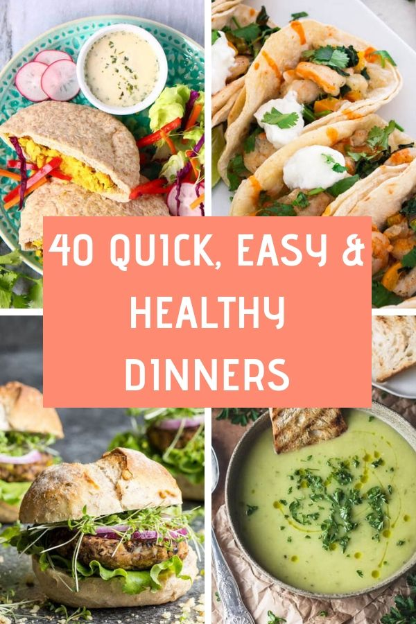 Quick, Easy & Healthy Dinners images