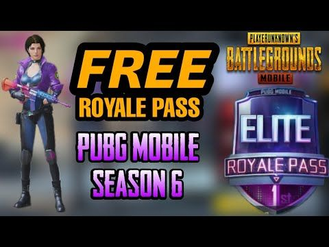 How to get Free Royal Pass in Pubg mobile season 6 - YouTube | pugb
