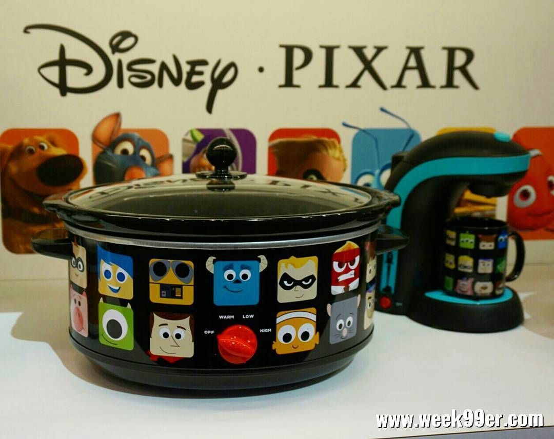Great first day of #ihhs2017 in the books and found these adorable #Disney #pixar appliances. How absolutely adorable are they?