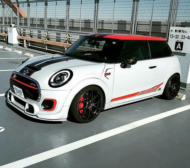 Mini Cooper S F56 Jcw White And Red Black Mix Bikes Cars And