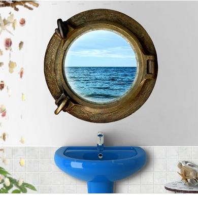Wandtattoo #wandaufkleber #aufkleber #badezimmer #gestaltung #bad ... Ideen Gestaltung Badezimmer