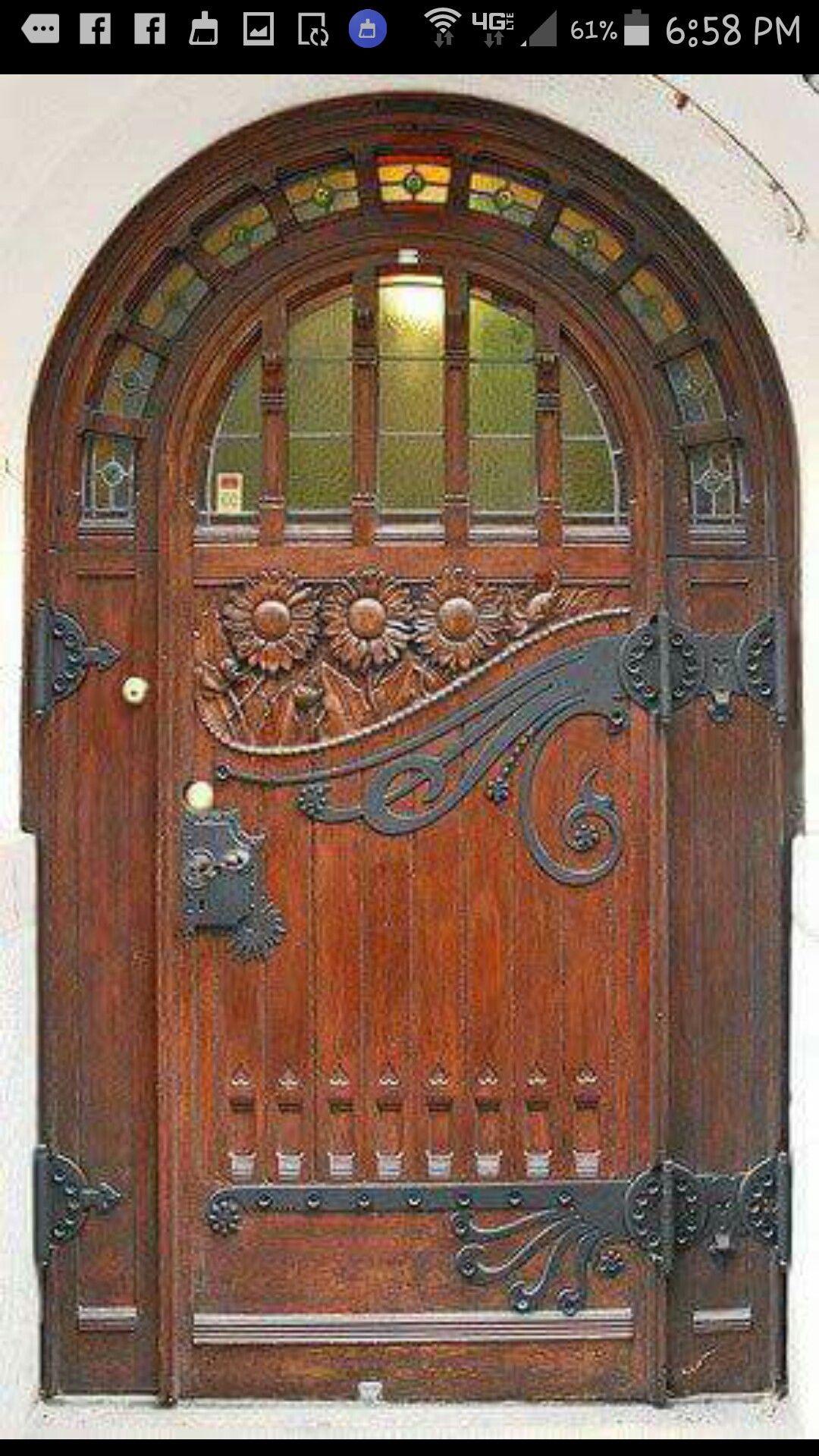 Pin By Herine On Decor Cool Doors Unique Doors Old Doors