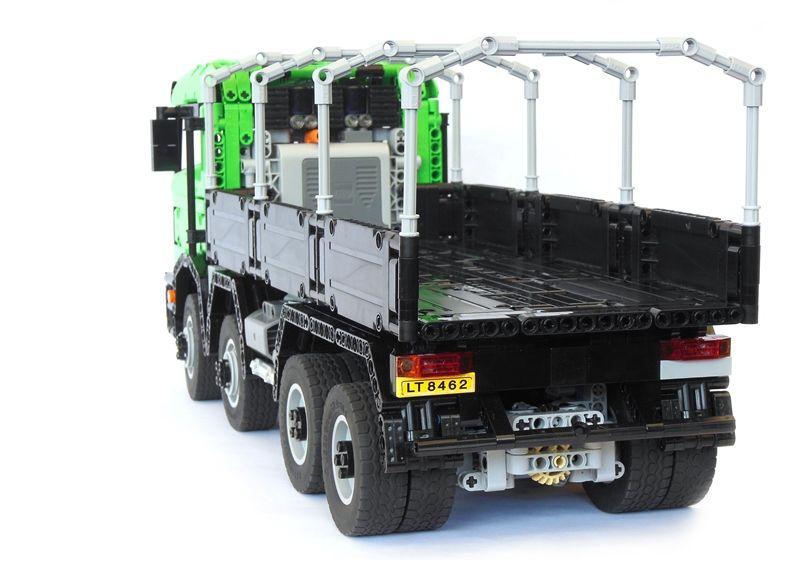 lego technic truck 8x8 remote control lego technic. Black Bedroom Furniture Sets. Home Design Ideas