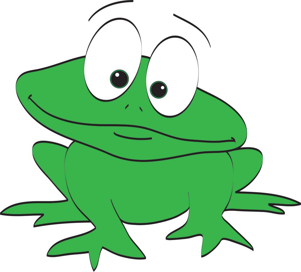 13 Mewarnai Gambar Katak Frog Cartoon Images Animated Frog