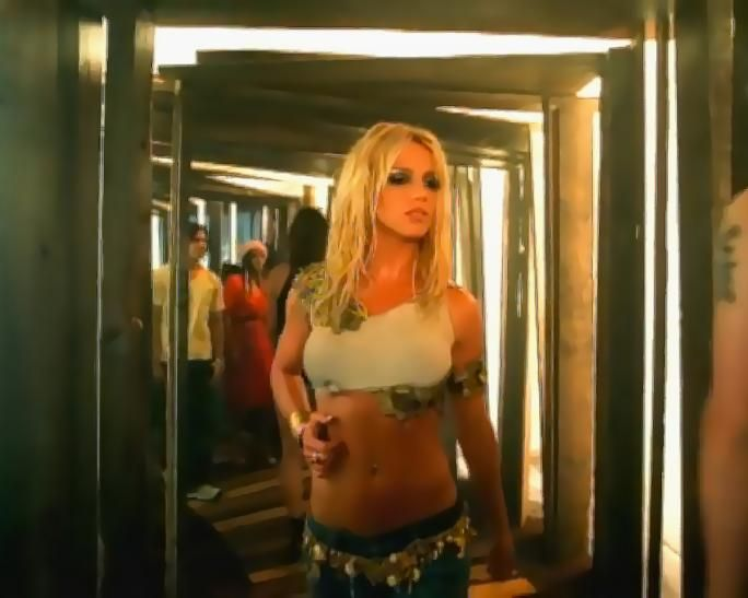 Britney spears naked shop