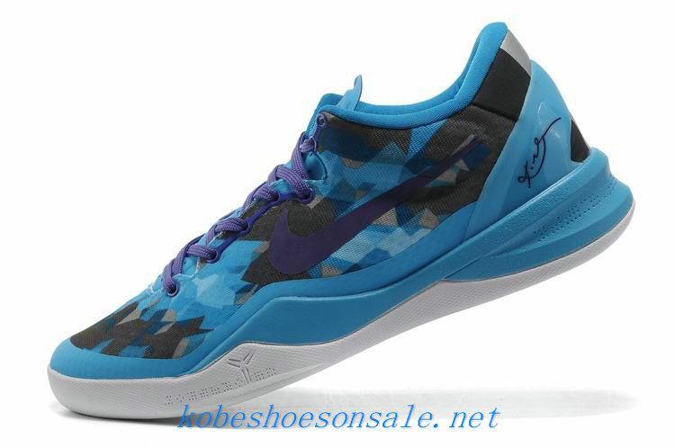 new arrival 5f31c 5a9a5 Nike Zoom Kobe 8 Elite Chlorine Blue Purple Black White 555035 003