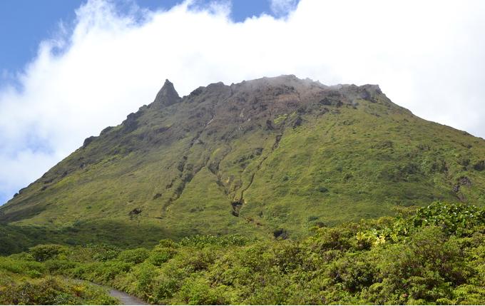 MadeleineSoufrière volcanic massif, BasseTerre