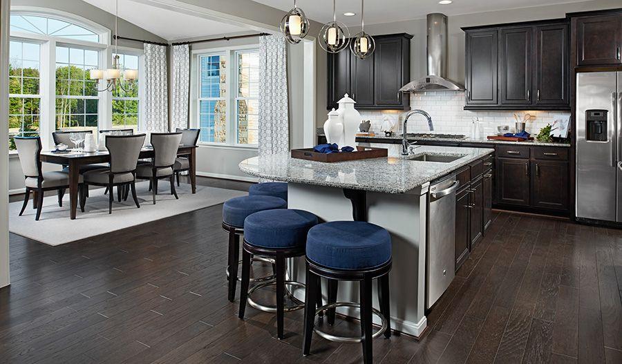 Hemingway Myd Kitchen Nook Blue Hemingway Floor Plan Richmond American Homes Our Kitchen Design In Kitchen Remodel Richmond Homes Contemporary Kitchen