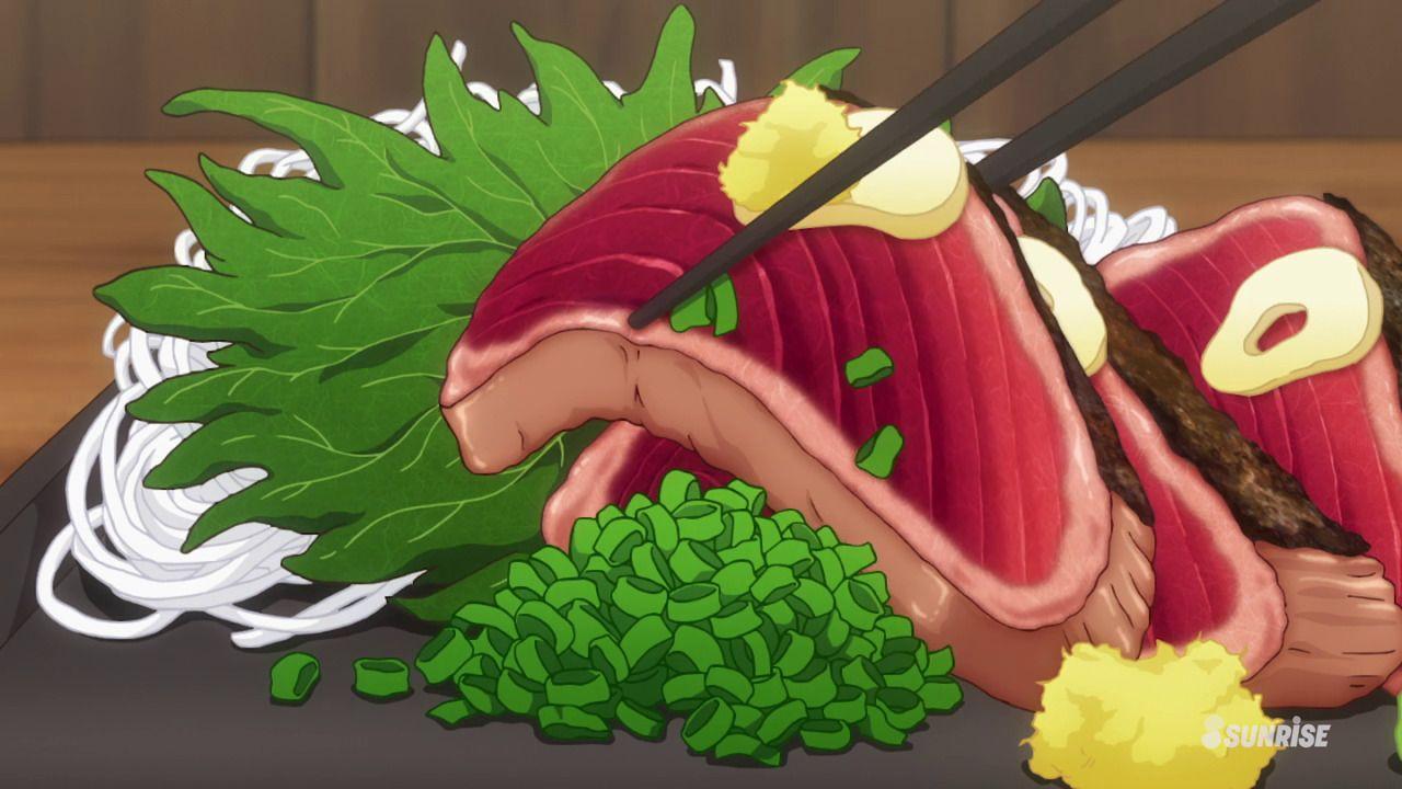 Anime Food Food Illustrations Anime Food
