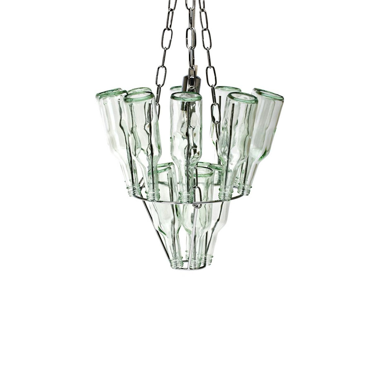 Eufab small bottle chandelier stuff i likewantneed buy leitmotiv mini bottle chandelier in chrome from our chandeliers range at tesco direct we stock a great range of products at everyday prices arubaitofo Image collections